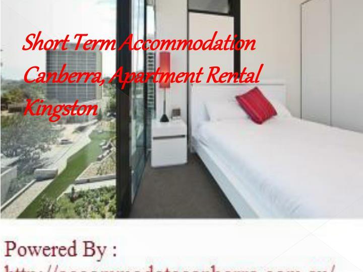 Short Term Accommodation Canberra, Apartment Rental Kingston