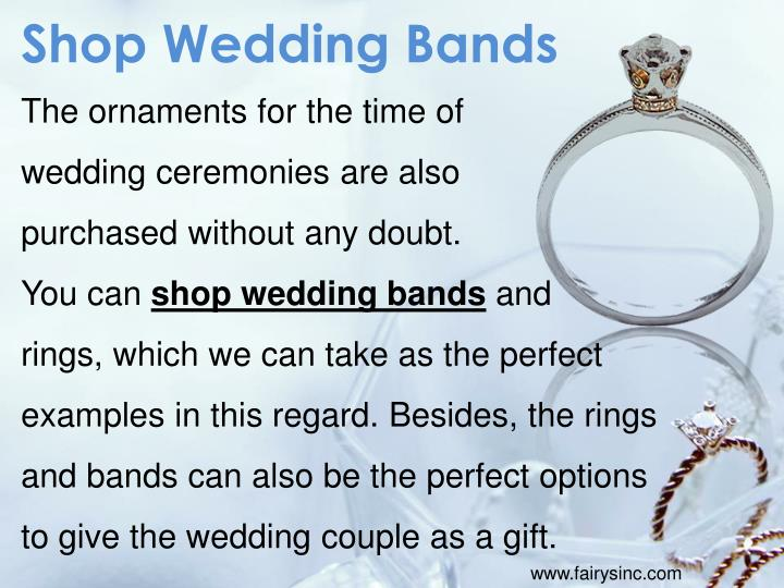 Shop Wedding Bands