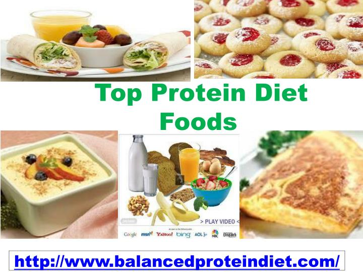 Top protein diet foods
