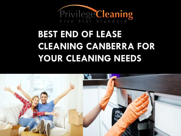 best end of lease cleaning canberra for your cleaning needs n.