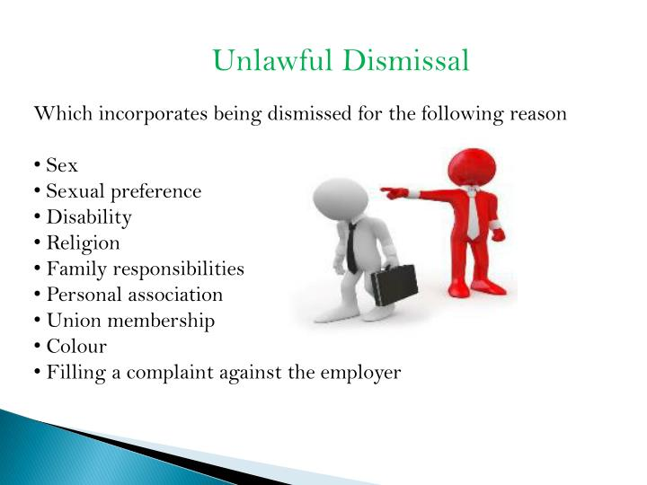 unfair and wrongful dismissal essay A distinction is made between unfair employment termination and illegal discharge we have term papers on wrongful termination, essays on wrongful termination.