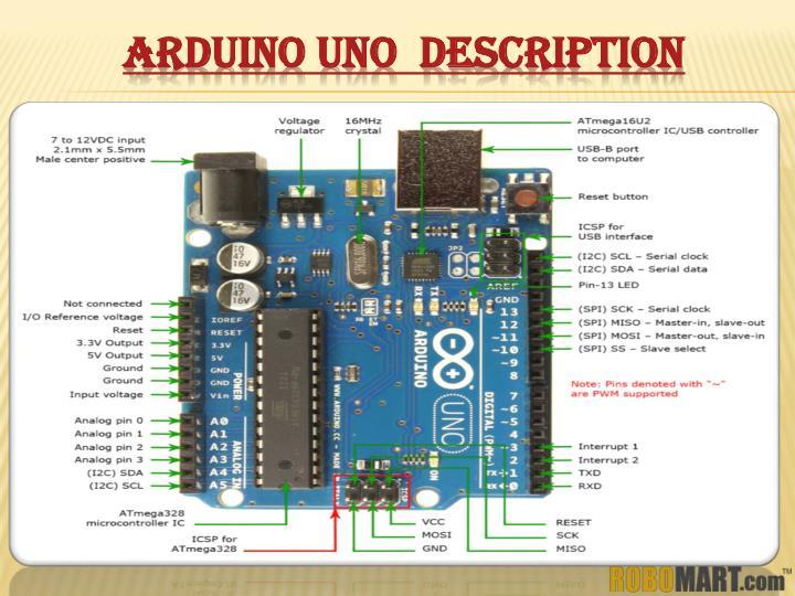 ARDUINO UNO  DESCRIPTION