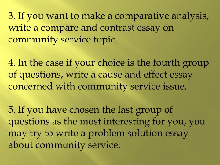 essay on communities