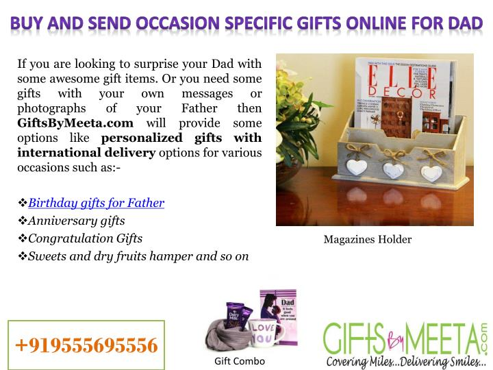 Buy And Send Occasion Specific Gifts Online For Dad