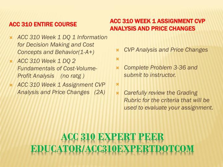 Acc 310 expert peer educator acc310expertdotcom1