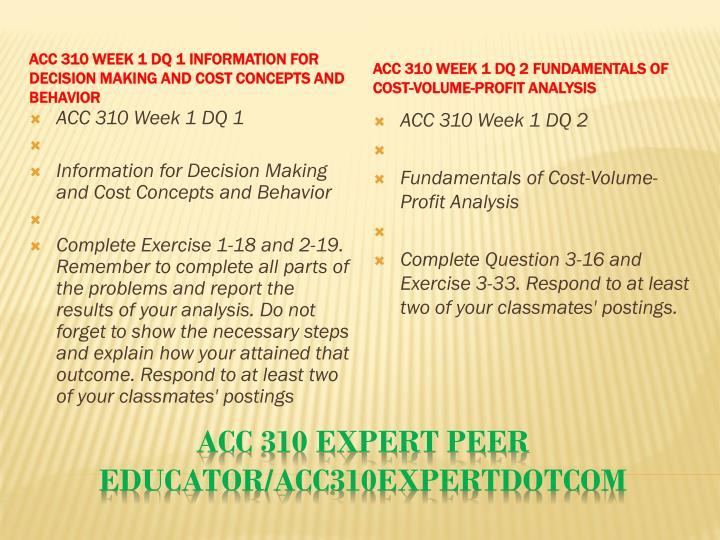 Acc 310 expert peer educator acc310expertdotcom2