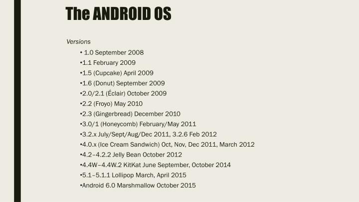 The android os1