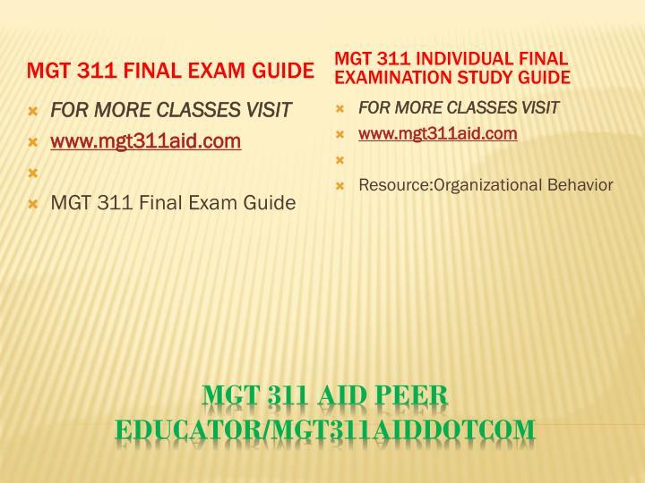 Mgt 311 aid peer educator mgt311aiddotcom2