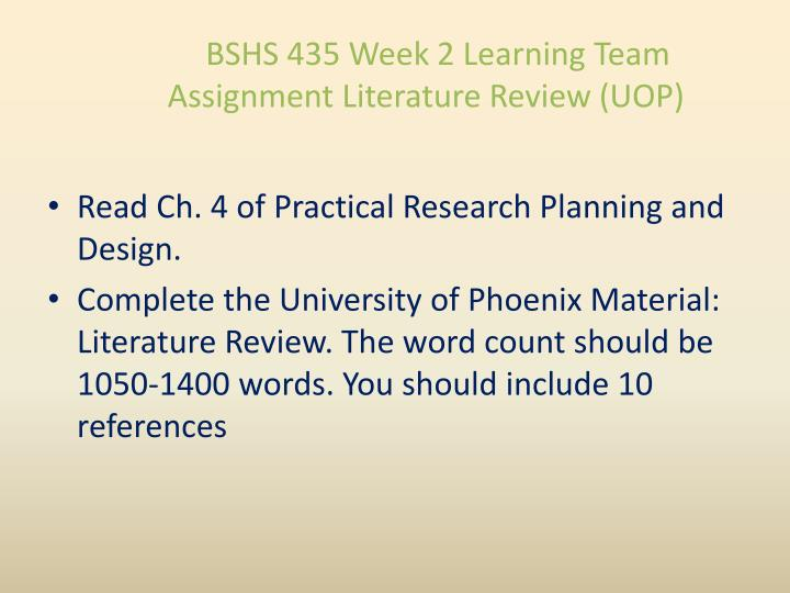 university of phoenix literature review analysis What is the range of percentage similarity of plagiarism for a inserted in the review of the available literature and directions for.