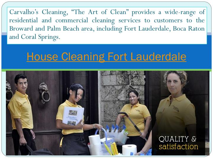 house cleaning fort lauderdale n.