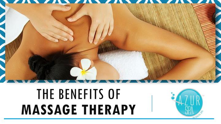 the benefits of massage therapy n.