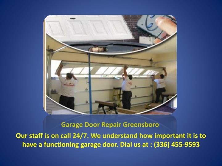 Ppt Garage Door Repair Greensboro Powerpoint