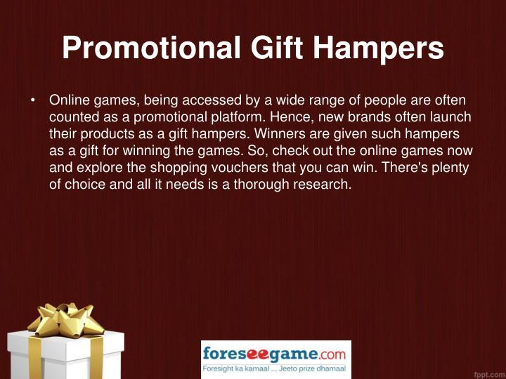 Promotional Gift Hampers
