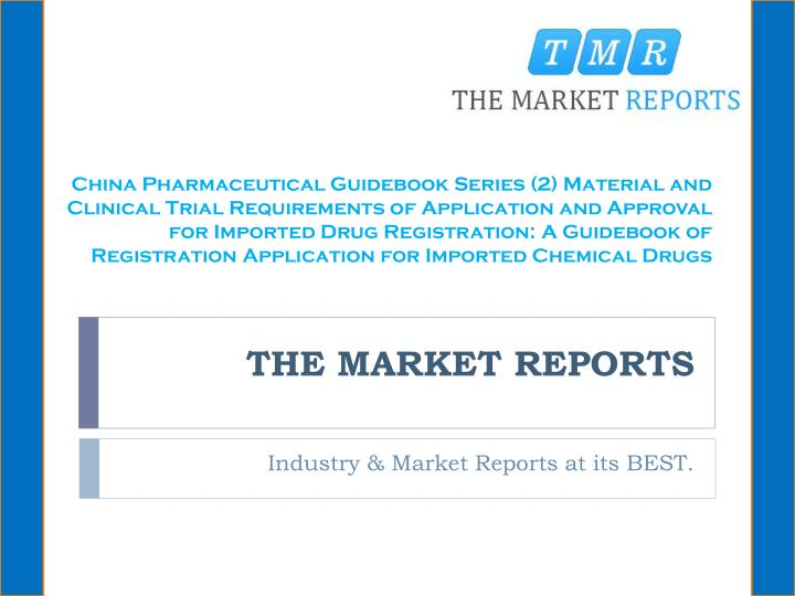 The market reports