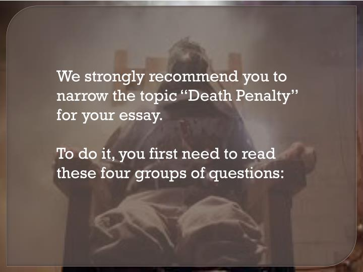 death penalty discursive essay introduction November 13, 2017 enjoy proficient essay writing and custom writing services provided by professional academic writers romeo and juliet essay on love introduction videos william: the goal of discursive essay on the death penalty sudoku is to fill a 9×9 grid with numbers so that each row, column and 3×3 section contain.