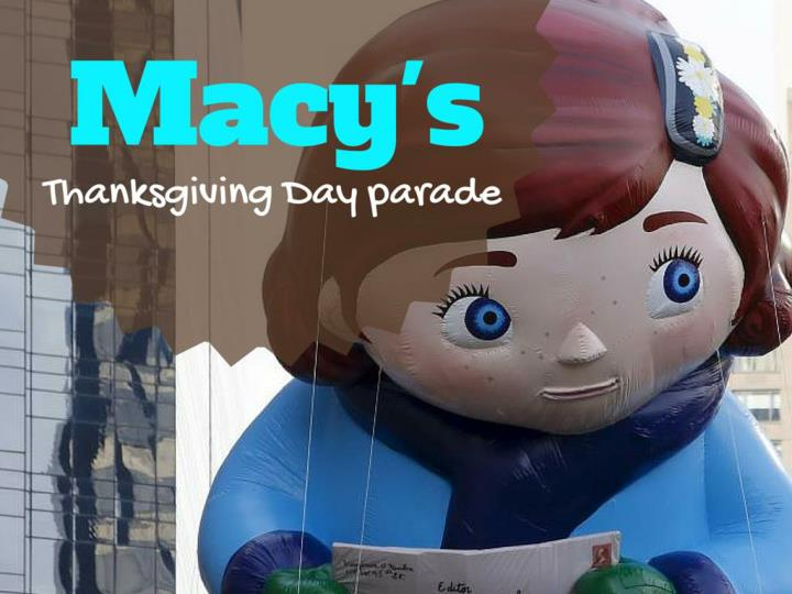 machy s thanksgiving day parade n.