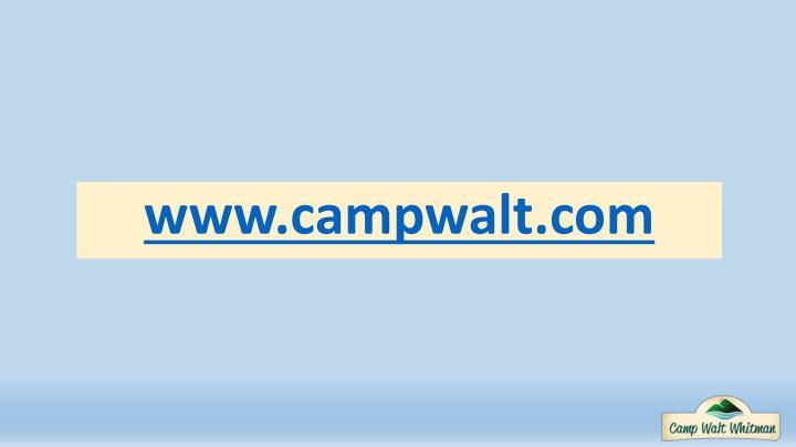 www.campwalt.com