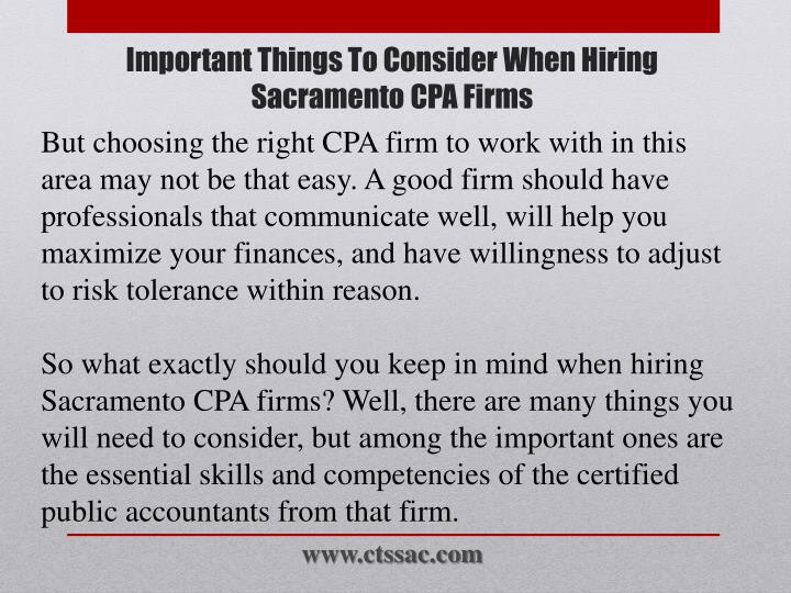 Important things to consider when hiring sacramento cpa firms2