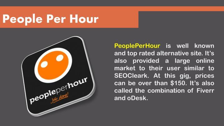 People Per Hour