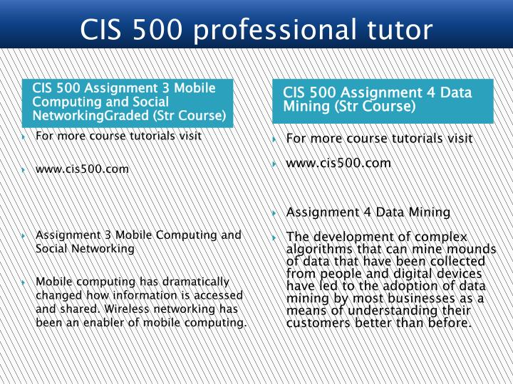 assignment mobile computing