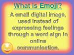 what is emoji