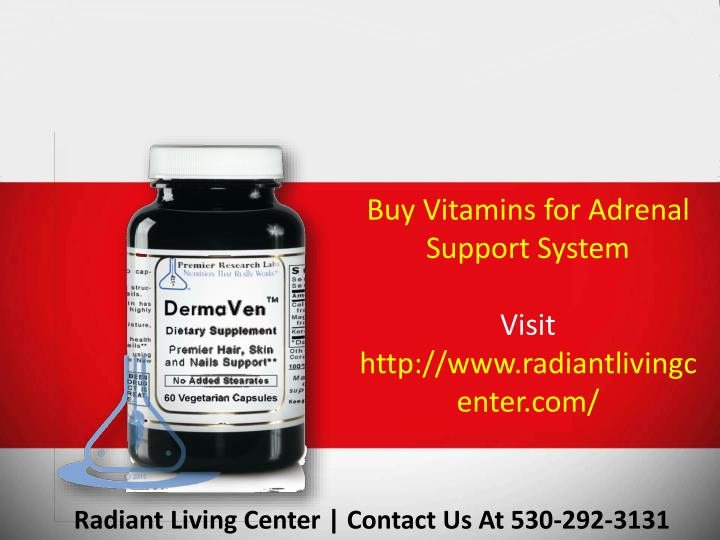 Buy Vitamins for Adrenal Support System