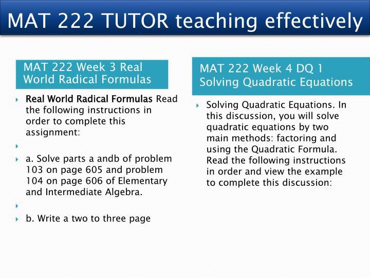real world quadratic functions mat 222 November 18, 2017 november 9, 2017 jdp leave a comment on mat 222 ash tutorials/uophelp mat 222 entire course (ash)  mat 222 week 4 real world quadratic functions.