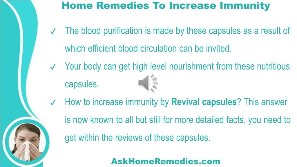 PPT - How To Increase Immunity Naturally With Home Remedies
