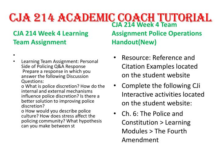 cja 214 critical issues in policing Embed document cja 214 week 5 individual assignment critical issues in policing paper(new.