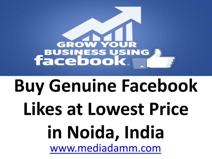Buy Genuine Facebook Likes at Lowest Price
