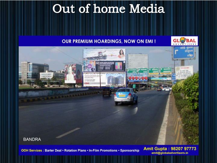 Out of home Media