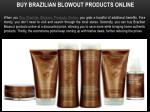 buy brazilian blowout products online
