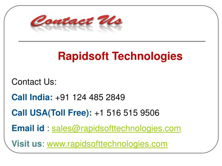 Rapidsoft Technologies