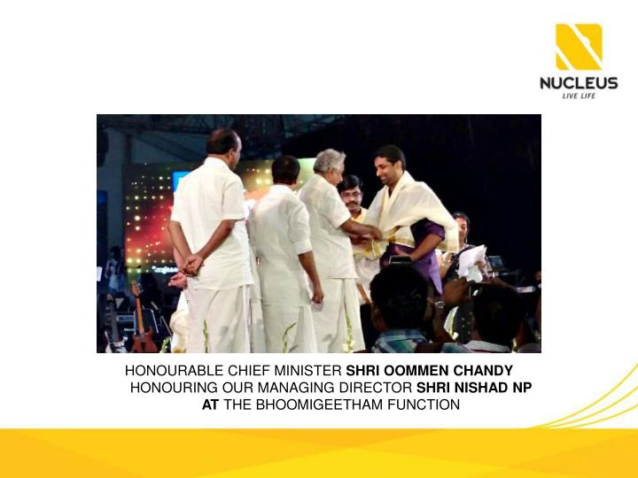 Honourable Chief Minister