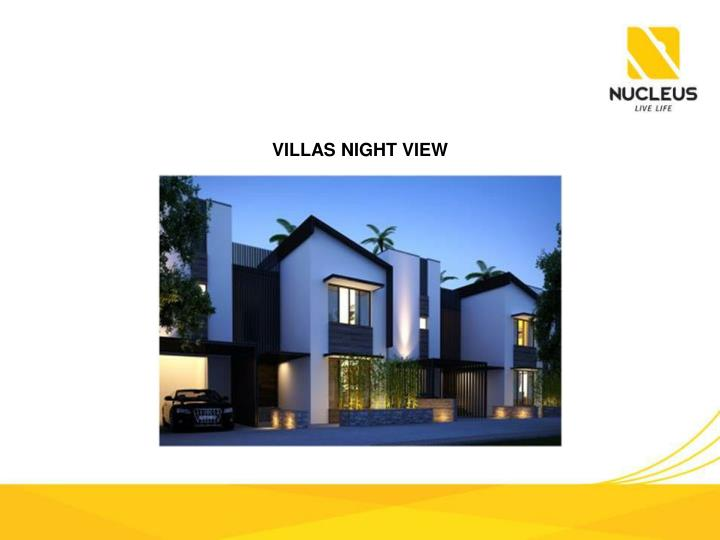 VILLAS NIGHT VIEW