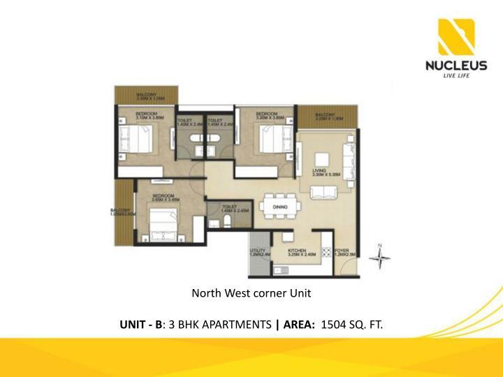 North West corner Unit
