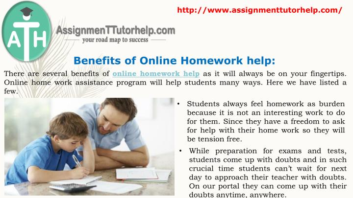 Benefits of homework help free revision included!