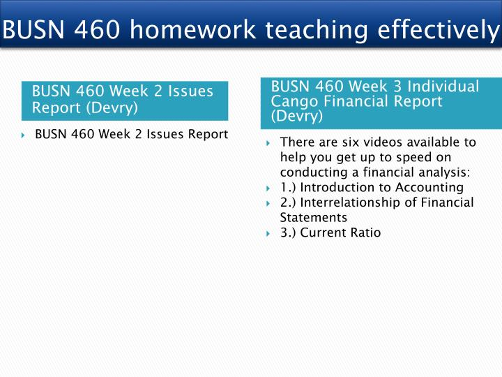 devry busn460 cango financial analysis Individual financial analysis reportbr br conclude devry busn460 week 3 -individual financial go to the cango intranet and pull the financial.