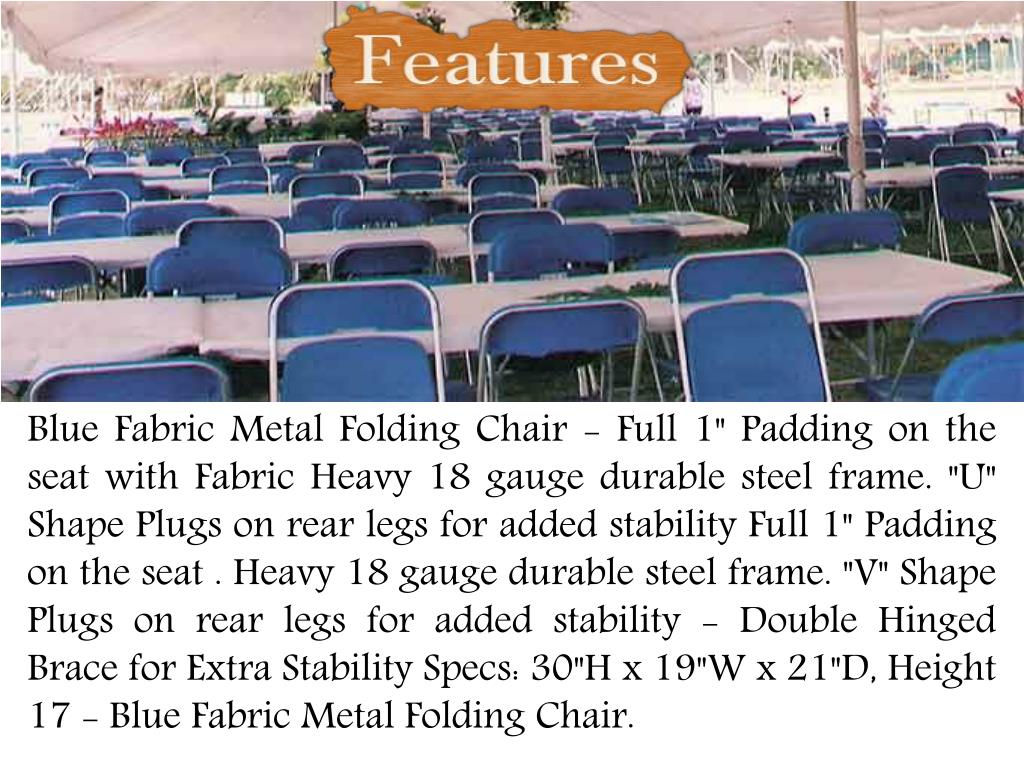Surprising Ppt Larry Hoffman Chair Introduce Blue Fabric Folding Ocoug Best Dining Table And Chair Ideas Images Ocougorg