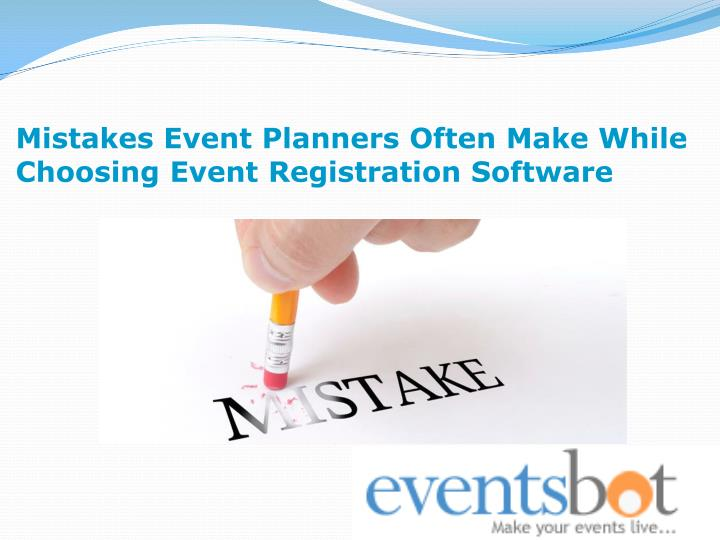 Mistakes Event Planners Often Make While