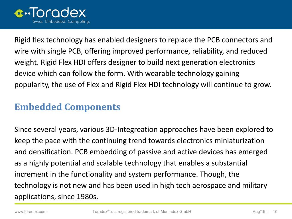 PPT - Technological Trends in the Field of Circuit Board