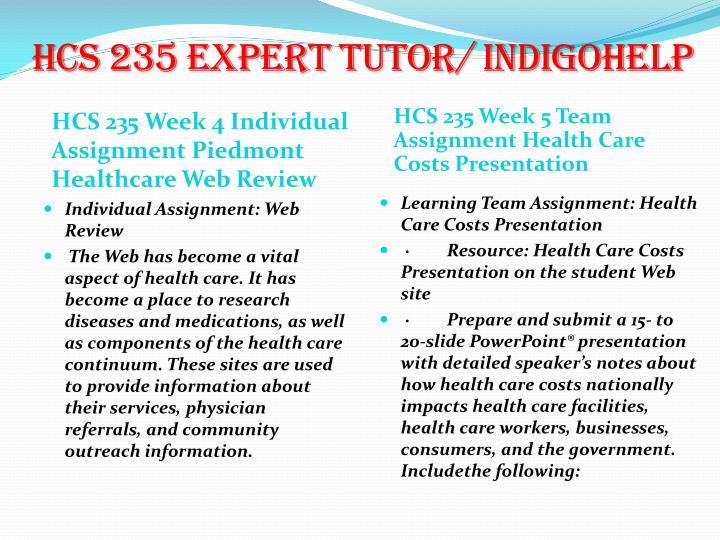 hcs 235 week health care utilization Bansal, a et al characterizing health care utilization in each hcs activity during the 48-week the utilization of health care.