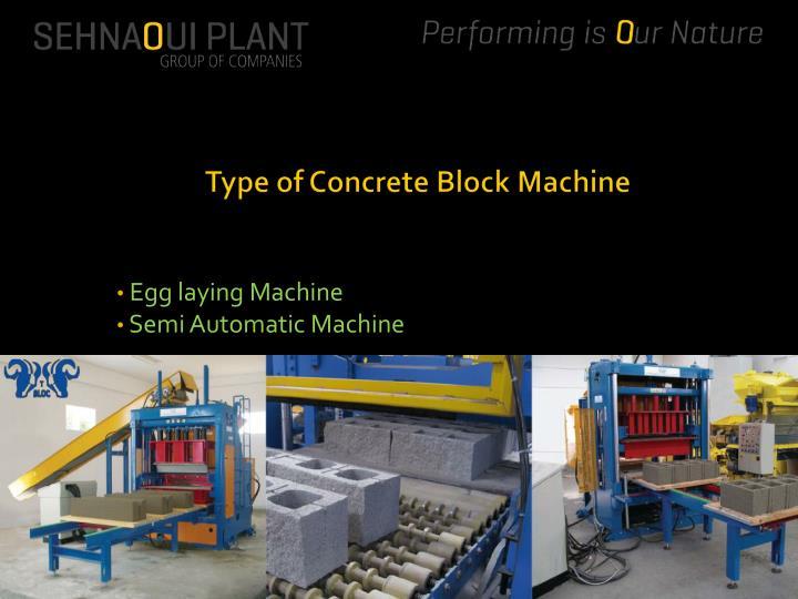 Egg laying machine semi automatic machine