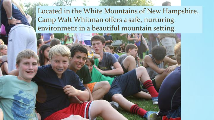 Located in the White Mountains of New Hampshire,