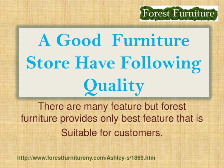Ppt ashley furnture staten island powerpoint for Good furniture stores