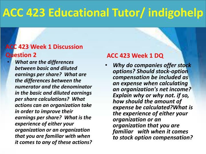 Acc 423 educational tutor indigohelp2