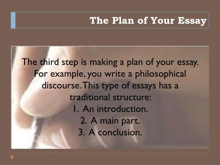 plan of an essay Prasad 1 lesson plan: learning about introductions for academic essays sarah prasad department of english and comparative literature san josé state university.
