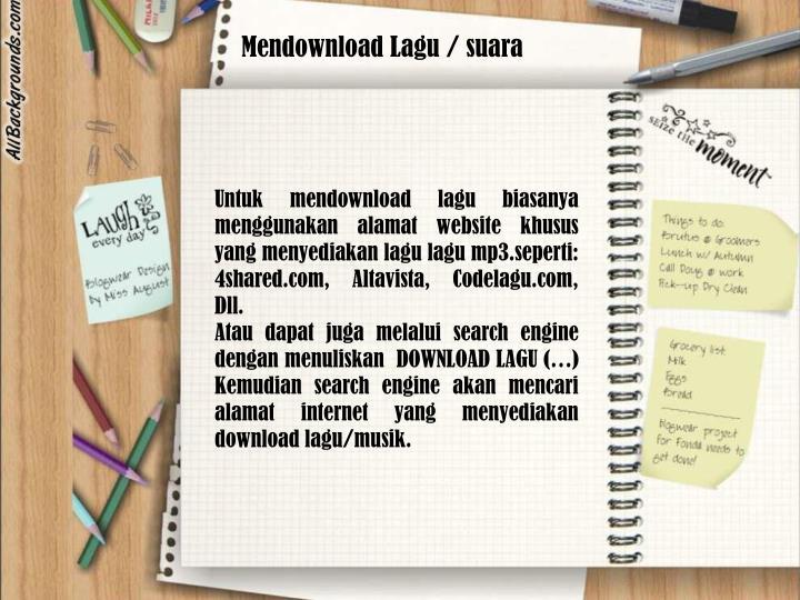Mendownload