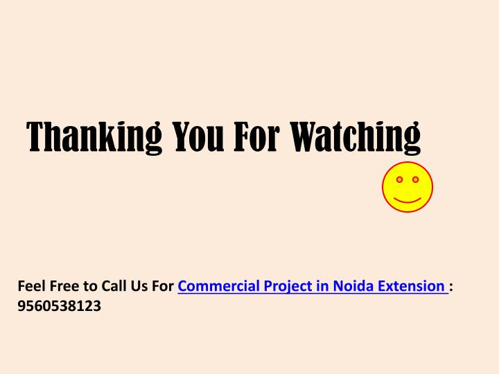 Thanking You For Watching