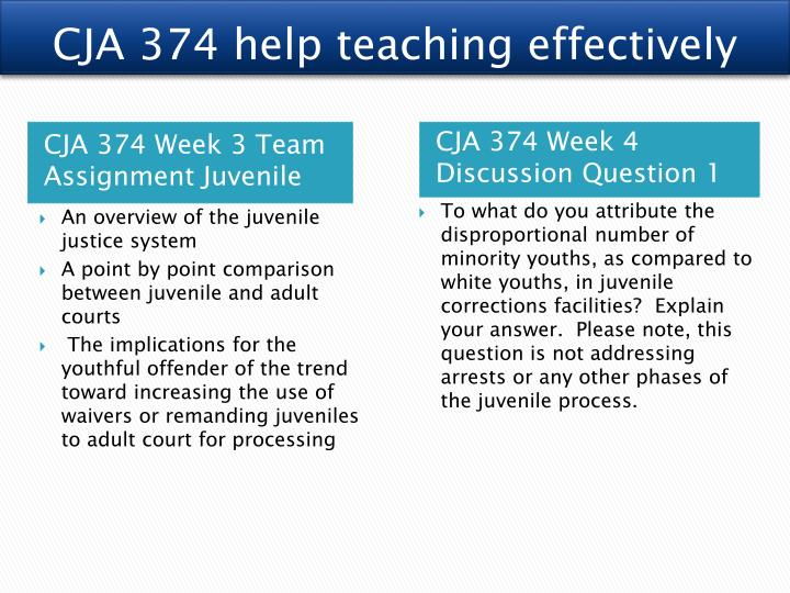 juvenile and adult courts a comparative analysis